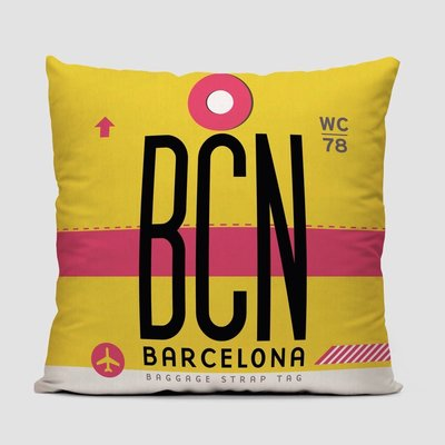 BCN Pillow Cover