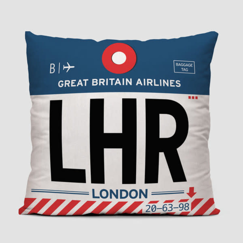 LHR Pillow Cover