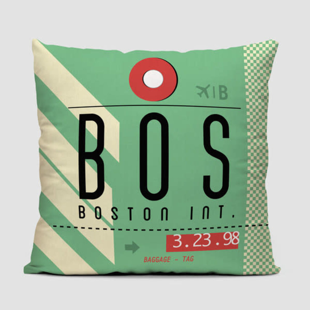 BOS Pillow Cover