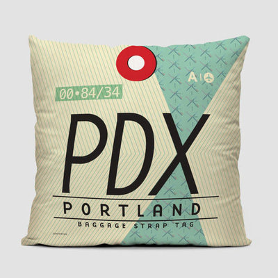 PDX Pillow Cover