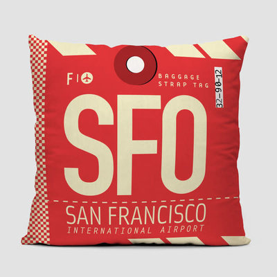 SFO Pillow Cover