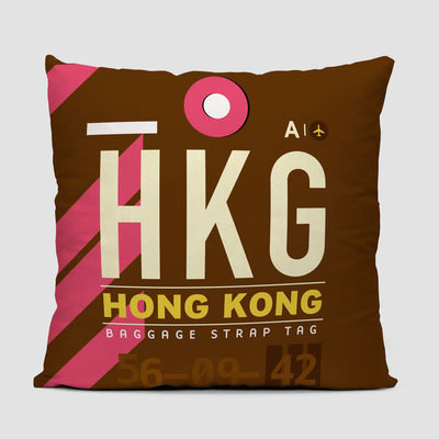 HKG Pillow Cover