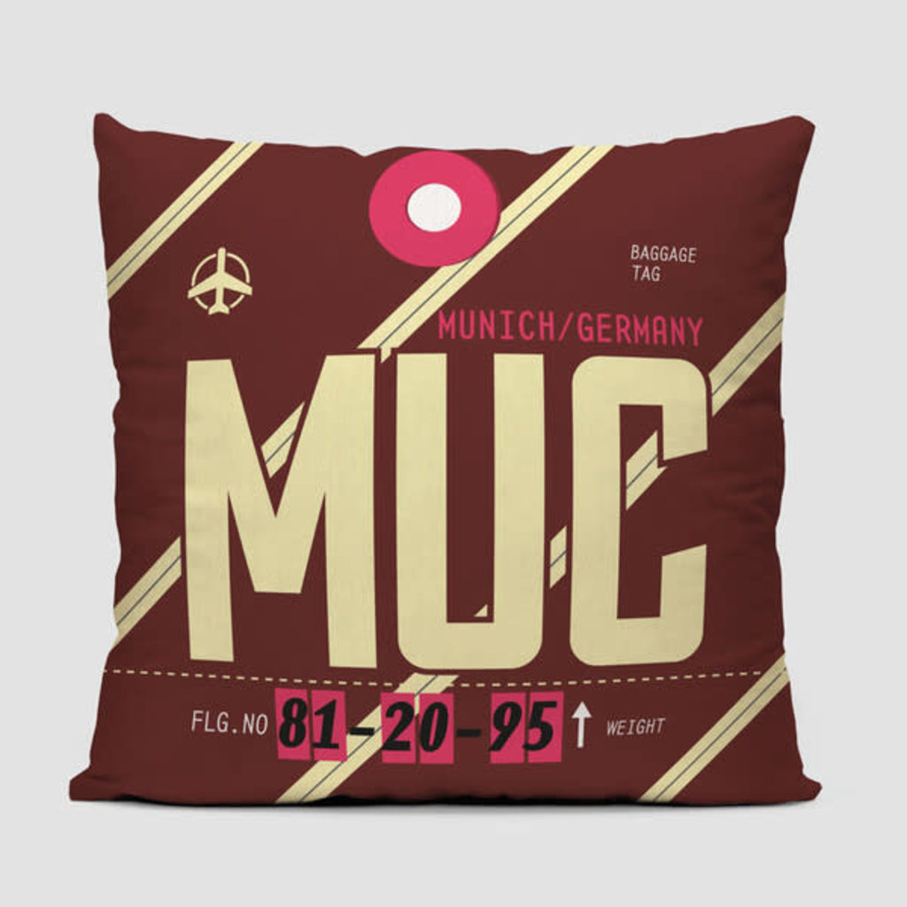 MUC Pillow Cover