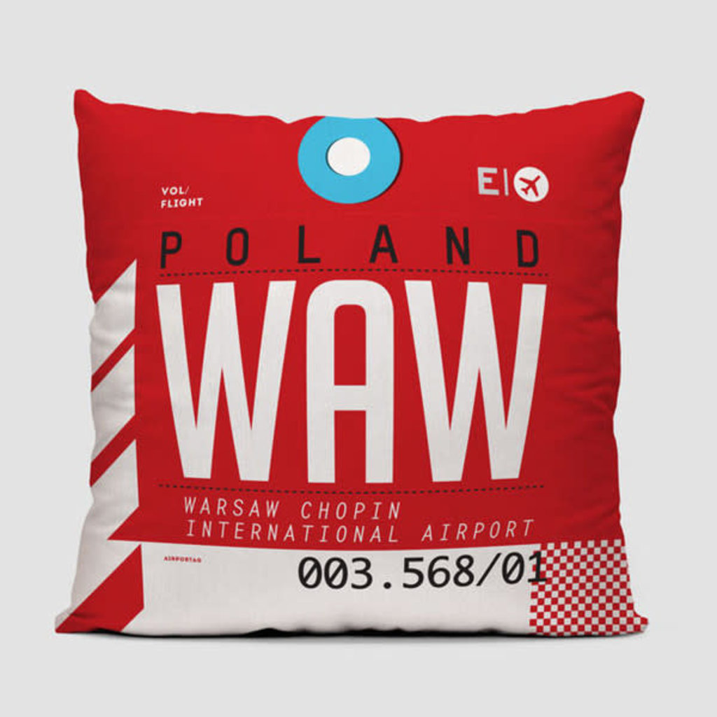 WAW Pillow Cover