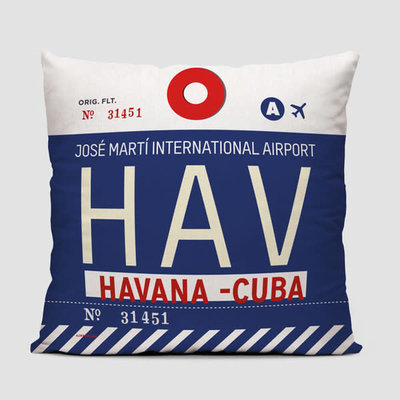 HAV Pillow Cover