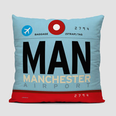 MAN Pillow Cover