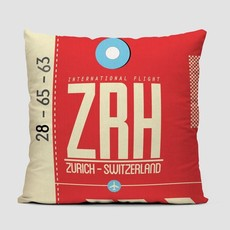 ZRH Pillow Cover