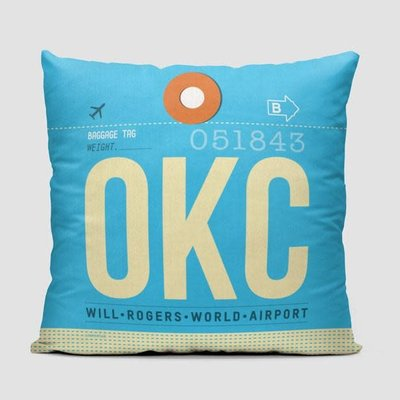 OKC Pillow Cover