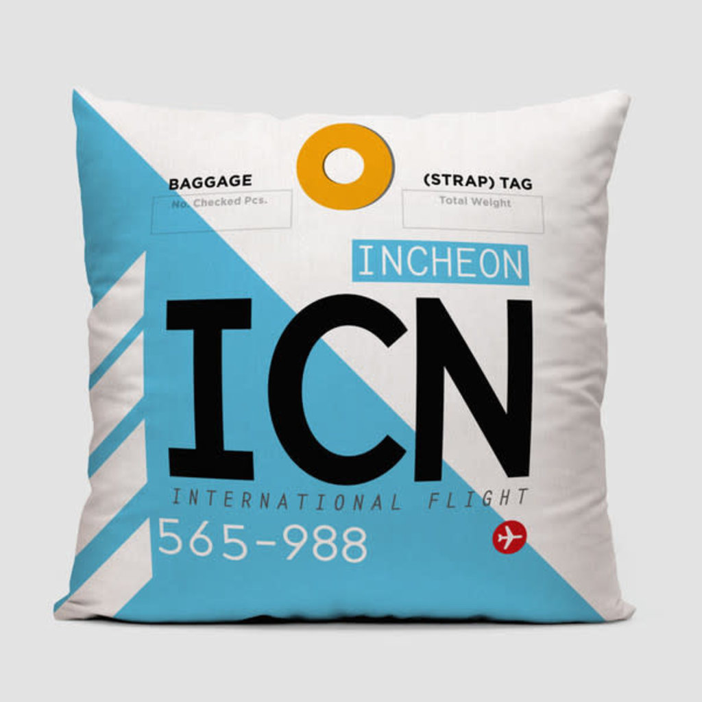 ICN Pillow Cover