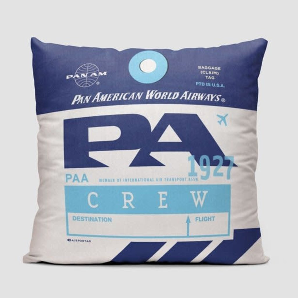 PA Pan Am Crew Pillow Cover
