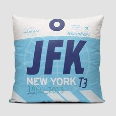 JFK Pan Am World Port Pillow Cover