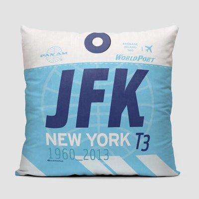 JFK Pan Am World Port Pillow Cover