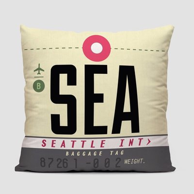 SEA Pillow Cover