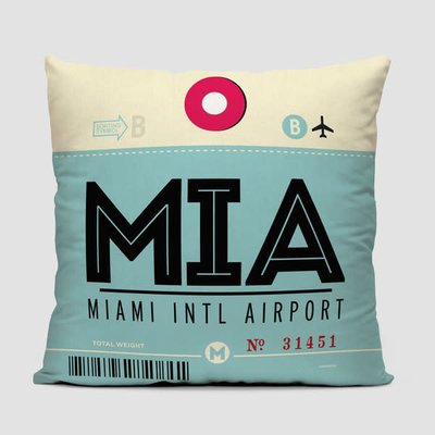 MIA Pillow Cover