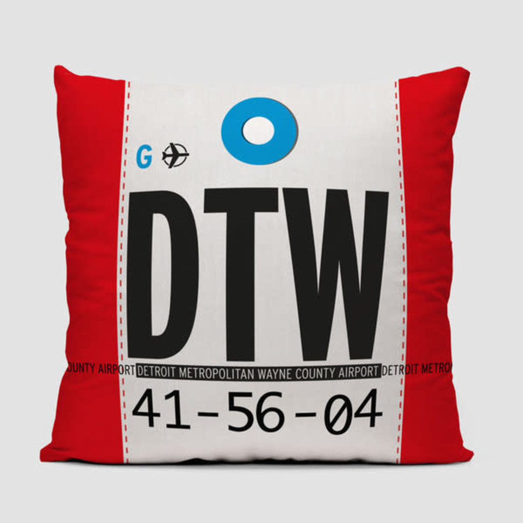 DTW Pillow Cover