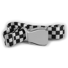 SkyBelt w/buckle Daytona Beach-Checkerboard