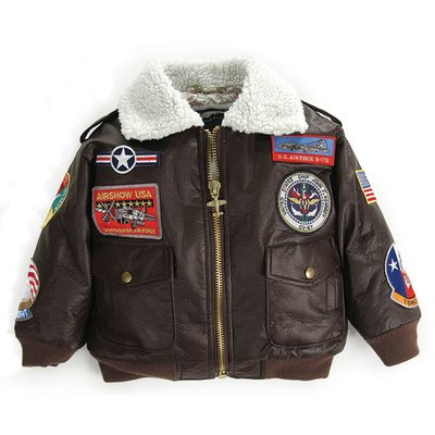 Kid's A-2 Bomber Jacket