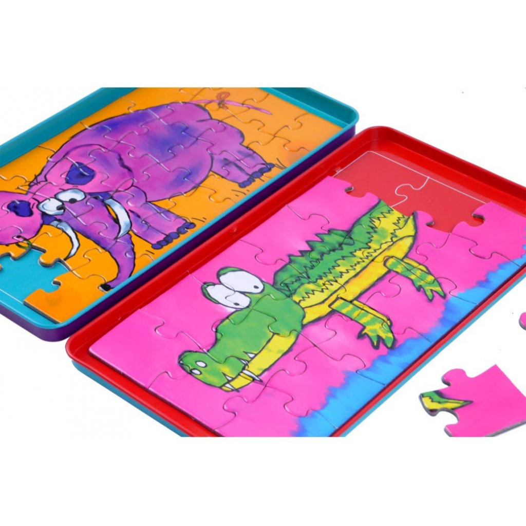 To go travel game Magnetic Puzzles