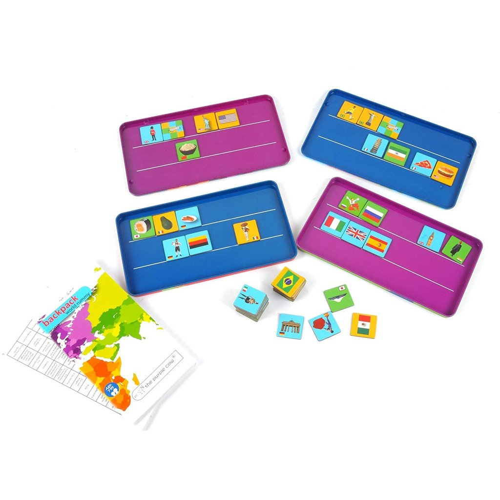 To Go Travel Game Magnetic Rummy World