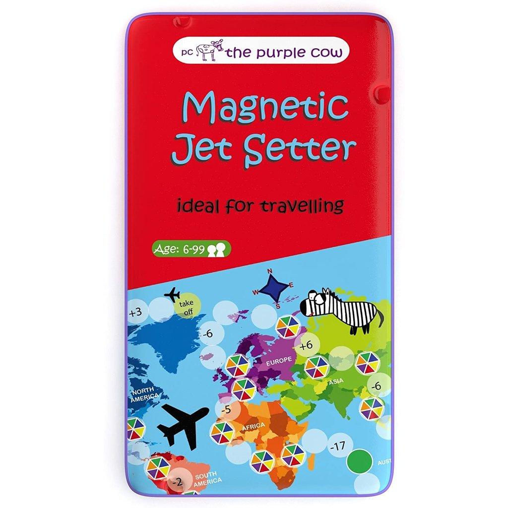 To Go Travel Game Magnetic Jet setter