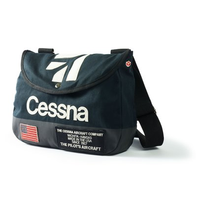 Cessna Shoulder Bag-Navy