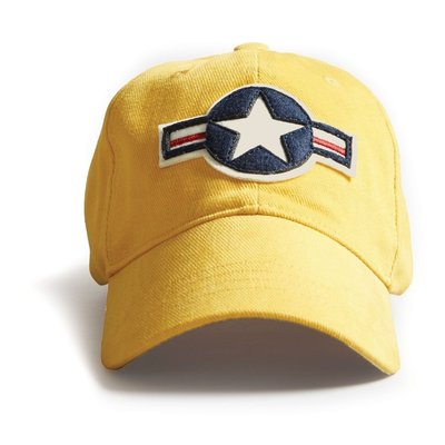 US Stripes Cap-Burnt Yellow