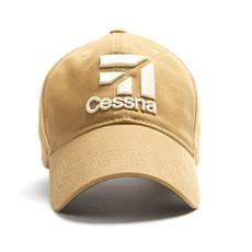 Cessna 3D Logo Cap - Tan