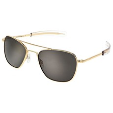 AVIATOR Gold Plate Gray Lens