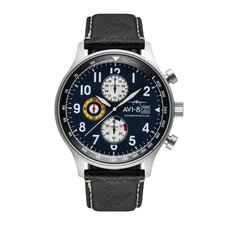 AVI-8 Hawker Hurricane Watch Blue Face/Black Strap