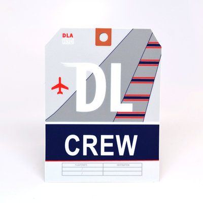 DL CREW Sticker