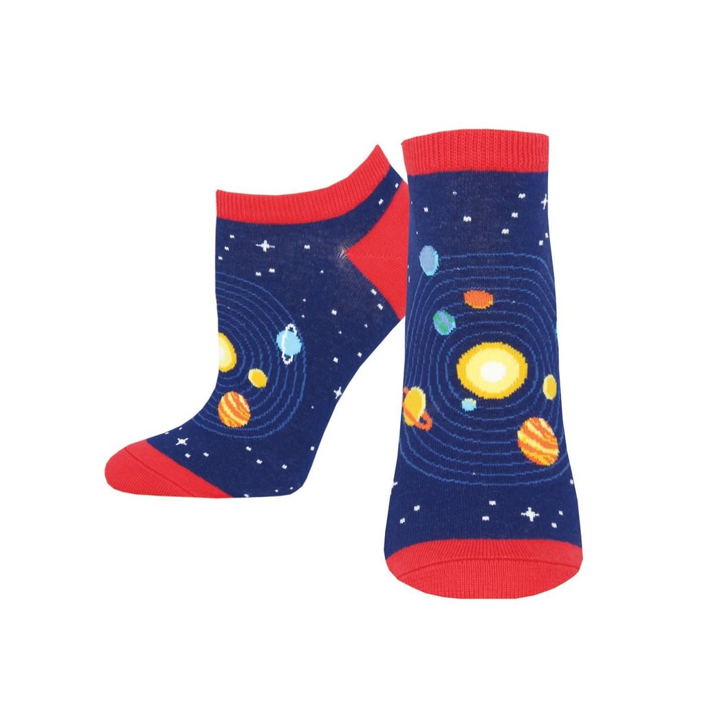 Women's Space Navy Socks