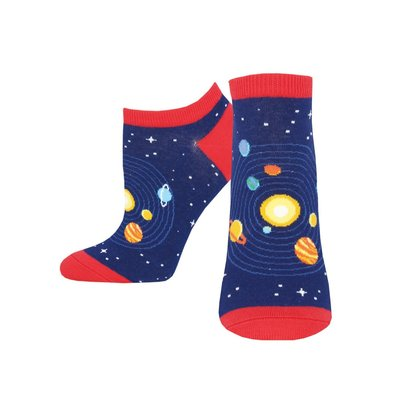 Women's Space Navy Socks