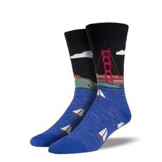 Men's Golden Gate Bridge Socks