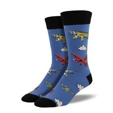 Men's Blue Fog Socks