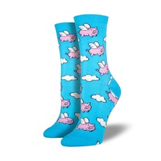 "Women's ""When Pigs Fly"" Socks"