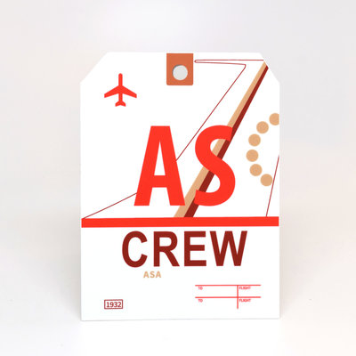 AS CREW Sticker