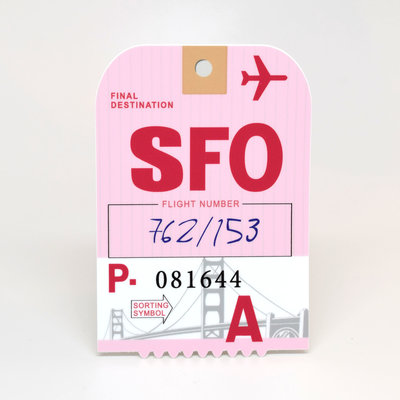 SFO Sticker