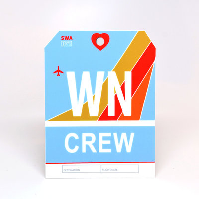 WN CREW Sticker