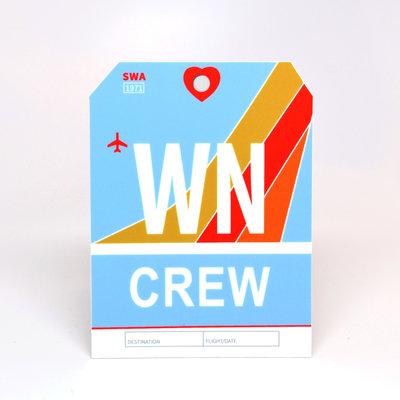 WN CREW Sticker