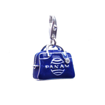 First Class Pan Am Bag Charm