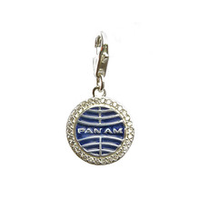 First Class Pan Am Globe Charm