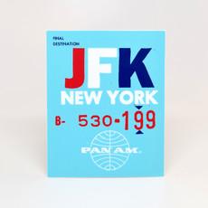 Pan Am Travel Sticker-New York