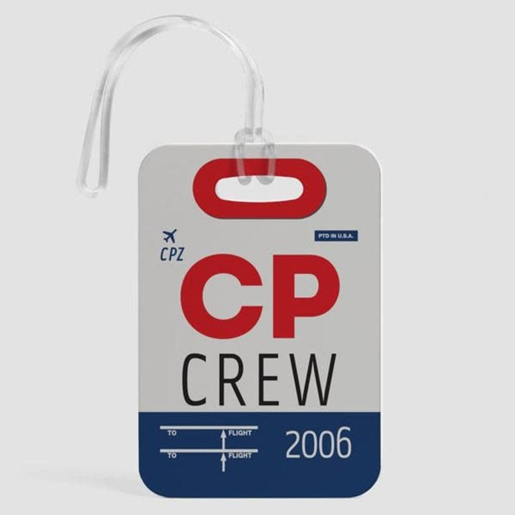 CP Crew Luggage Tag
