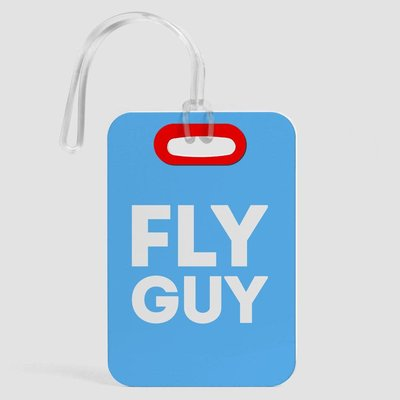 Fly Guy Luggage Tag