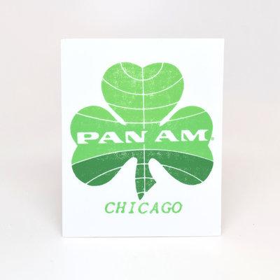 Pan Am Chicago Sticker