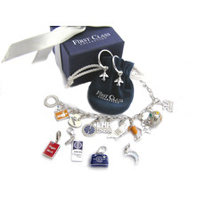 First Class Silver Star Charm