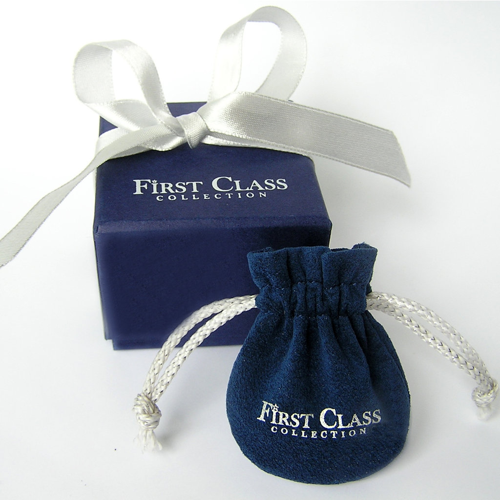 First Class Silver Heart Charm