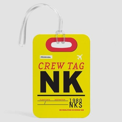 NK Crew Luggage Tag