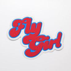 FLY GIRL Die-Cut Sticker