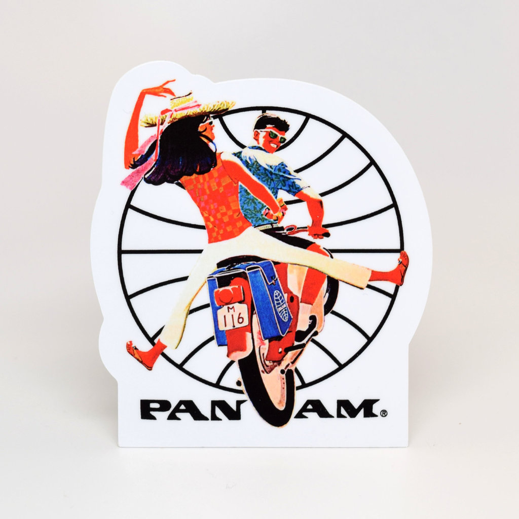 Pan Am Travel Sticker Scooter